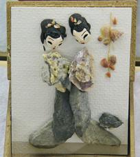 石头画情侣