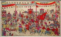 1912年初上海商会木版年画