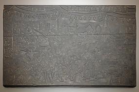 1912年初上海商会年画木版