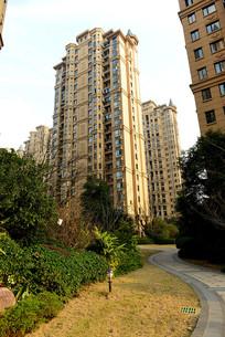 高层住宅区