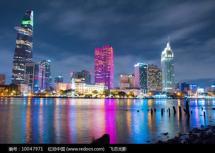 越南西贡城市摄影图片