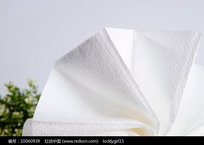 卫生纸特写图片