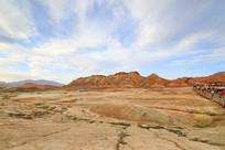 大西北荒漠区