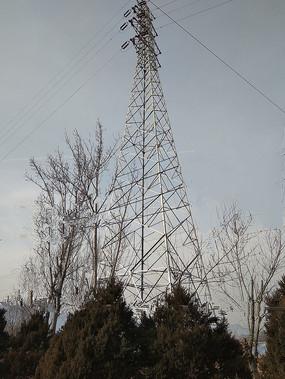 高压电线塔