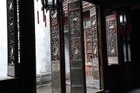 张石铭故居庭院