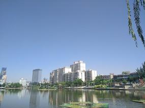 雁滩公园城市建筑