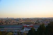 北京故宫博物院全景