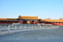 北京故宫的金水桥