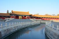 北京故宫金水桥
