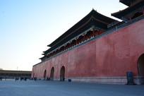 北京故宫一角