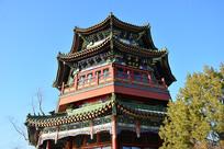 北京什刹海藏经阁古楼