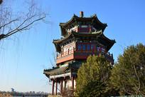 北京什刹海的藏经阁
