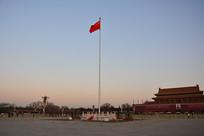 北京天安门广场升旗仪式