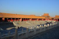故宫中和殿走廊