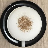 卡普奇诺咖啡方构图