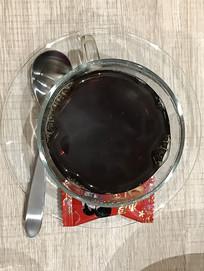 美式咖啡竖构图