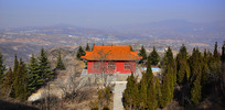 山顶的寺庙