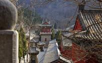 寺庙建筑群图片