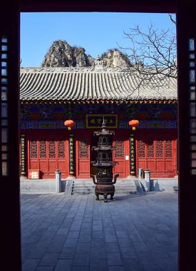 寺院的大雄宝殿
