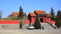 中岳庙建筑景观