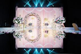 婚礼舞台布置