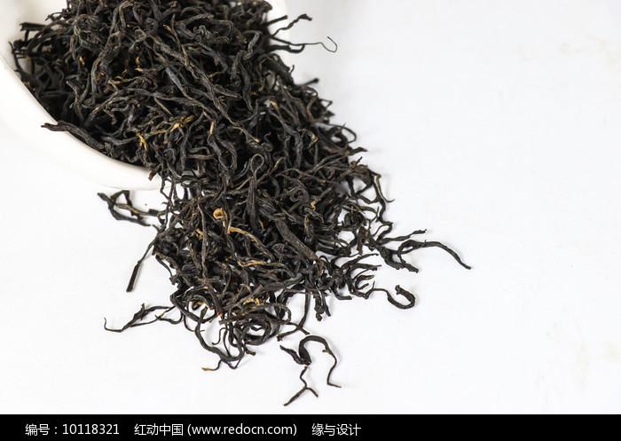 正山小种干茶茶素材图片