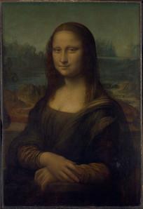 蒙娜丽莎的微笑油画