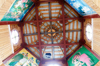 教堂内屋顶装饰