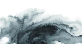 巨幅水墨壁画