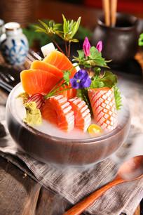三文鱼海鲜拼盘