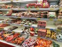 超市食品展柜