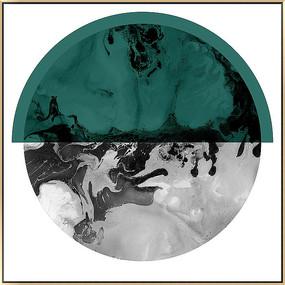 创意黑白新中式装饰画