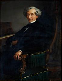 艾克托尔·路易·柏辽兹的画像