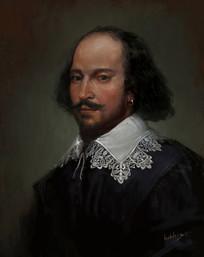 威廉·莎士比亚的画像