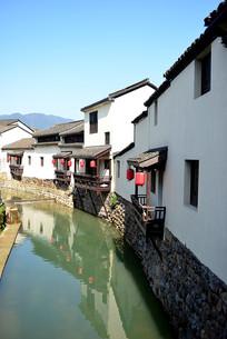 杭州萧山河上古镇