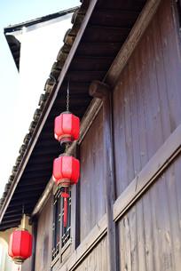 河上古镇建筑物