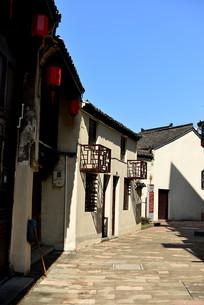 萧山河上古镇
