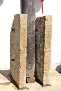 柱子的底座夹板