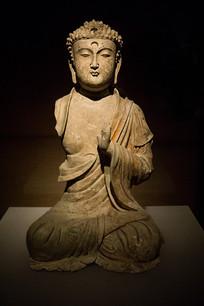 彩绘释迦摩尼佛像