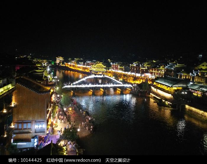 凤凰雪桥图片