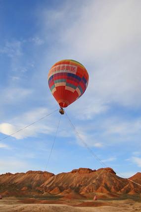 旅游景区热气球
