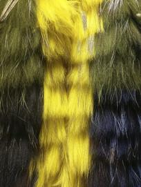 染色皮草绒