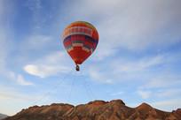 热气球升空