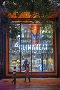 上海南京路橱窗灯光灯饰