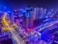 城市夜景风光