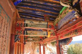 马蹄寺彩绘