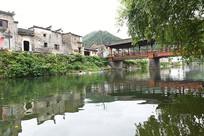 瑶里古镇风雨桥
