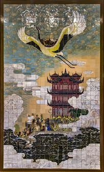 黄鹤楼壁画