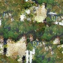 大树油画抽象背景