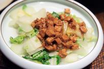 青口白菜烧豆腐